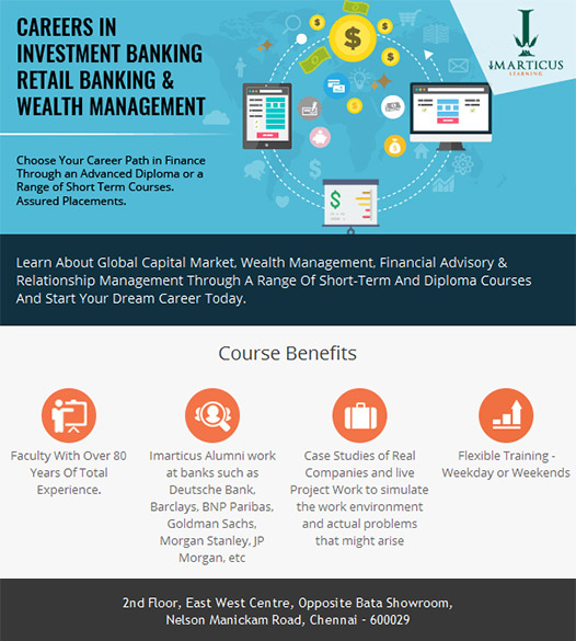 Careers in Investment Banking & Wealth Management